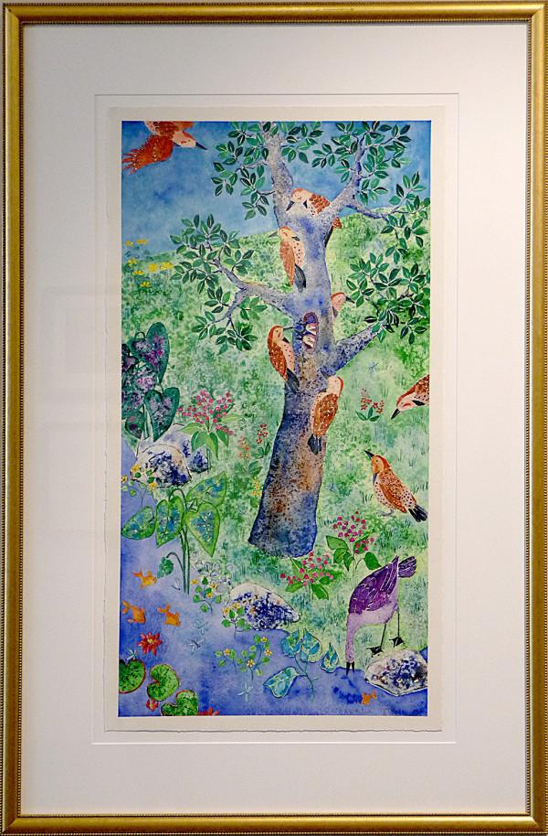 2988 - The Woodpecker Tree by Ann Nelson