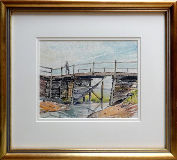 2364 - Third Sketch of Bridge July 13, 1930 by Llewellyn Petley-Jones (1908-1986)