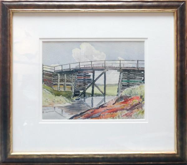 2365 - Third Study of Old Bridge July 20, 1930 by Llewellyn Petley-Jones (1908-1986)