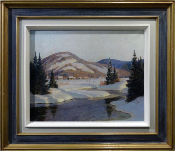 0617 - Winter Stream by Thomas Harold Beament (1898-1984)