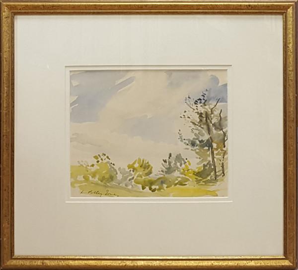 2369 - Trees and Sky near Saskatchewan River by Llewellyn Petley-Jones (1908-1986)
