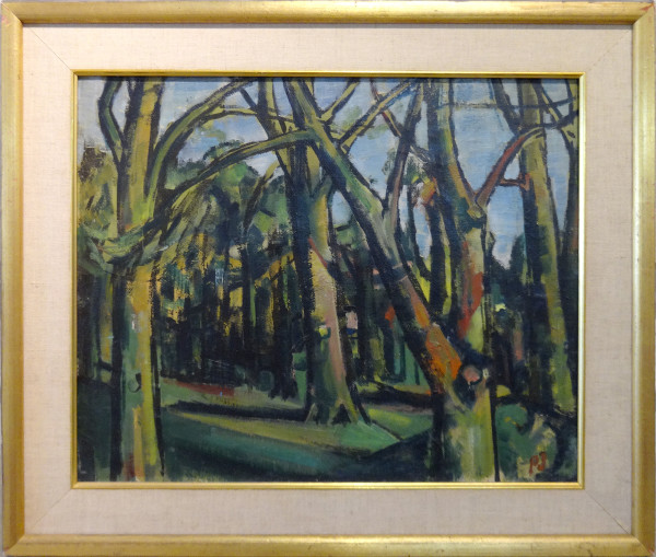 0260 - Trees, Richmond Park by Llewellyn Petley-Jones (1908-1986)