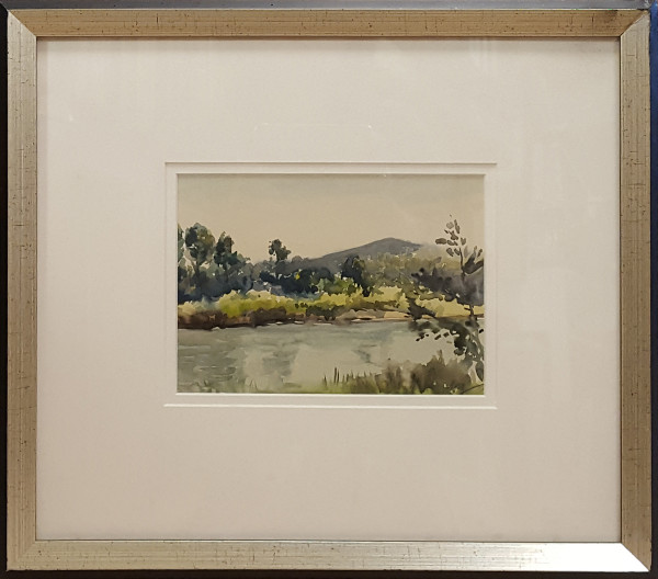 2367 - Trees and River by Llewellyn Petley-Jones (1908-1986)