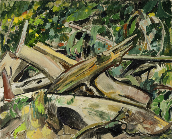 0286 - Trunks and Fronds by Llewellyn Petley-Jones (1908-1986)