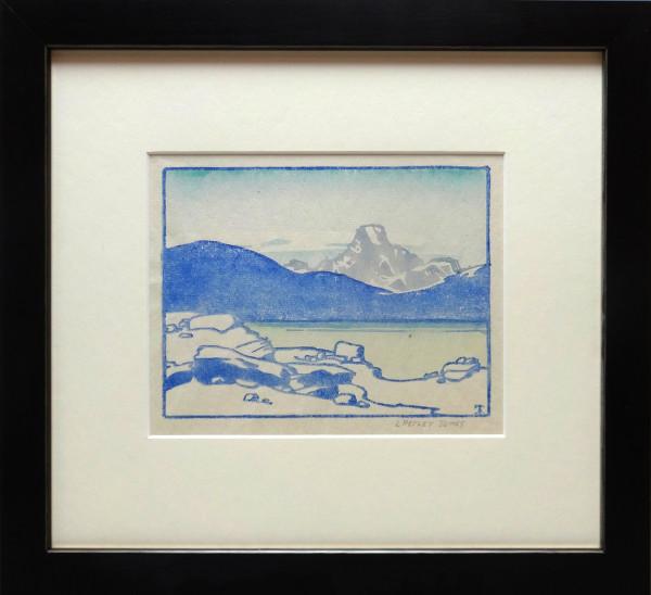 2220 - Untitled (Rockies) by Llewellyn Petley-Jones (1908-1986)