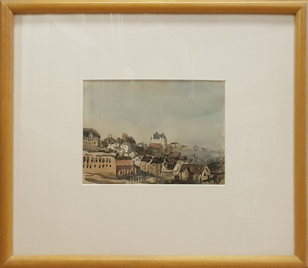 2375 - View from the Parliament, Edmonton by Llewellyn Petley-Jones (1908-1986)