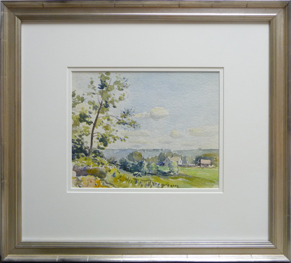 2363 - The View from the Garden by Llewellyn Petley-Jones (1908-1986)