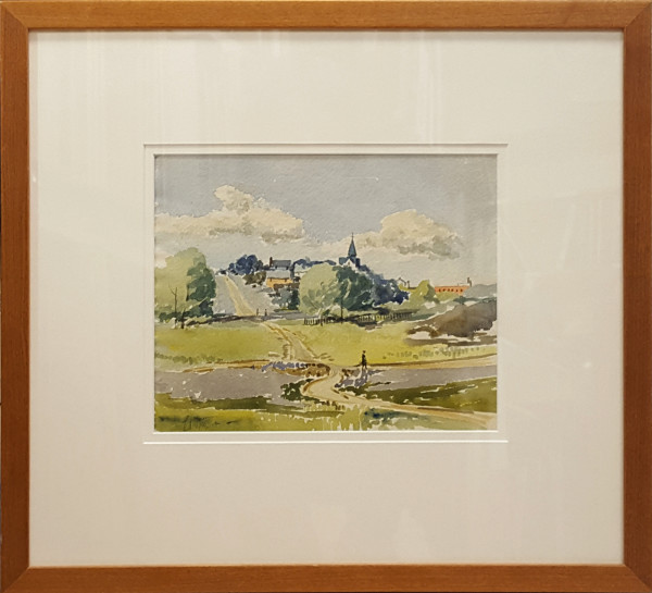2376 - View Near Our House by Llewellyn Petley-Jones (1908-1986)