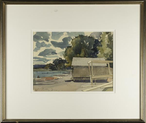 3095 - Wabamun Lake by Llewellyn Petley-Jones (1908-1986)
