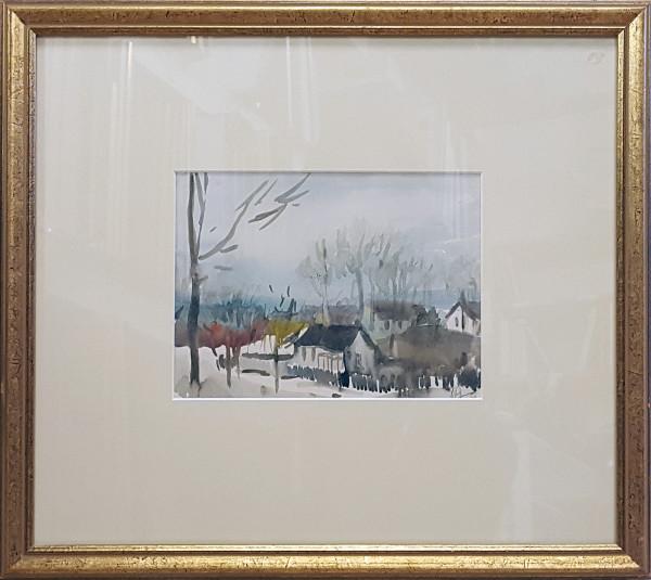 2379 - Walterdale Edmonton by Llewellyn Petley-Jones (1908-1986)