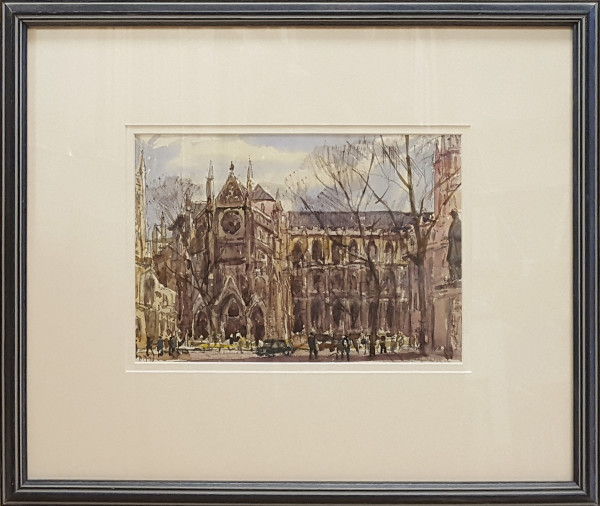 2380 - Westminster Abbey by Llewellyn Petley-Jones (1908-1986)