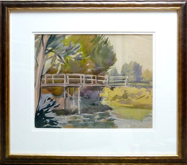 2382 - Whitemud Bridge #1, Edmonton by Llewellyn Petley-Jones (1908-1986)