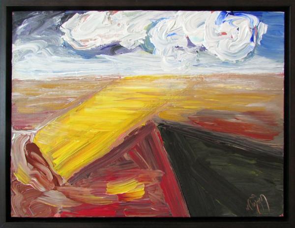 0580 - Yellow Fields by Matt Petley-Jones