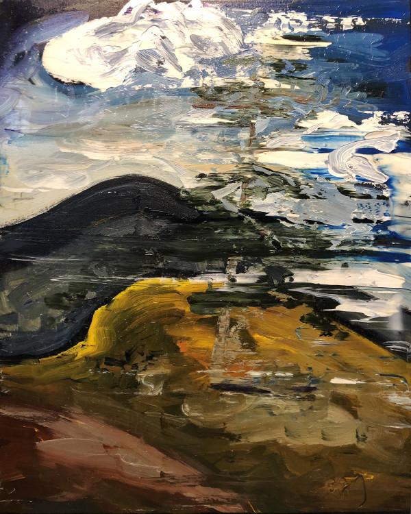 0464 - Lone tree by Matt Petley-Jones