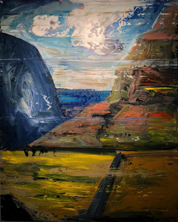 0468 - Mountain Pass by Matt Petley-Jones