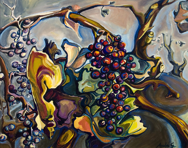 0689 -  UNTITLED (Surreal Fruit) by Andra Ghecevici