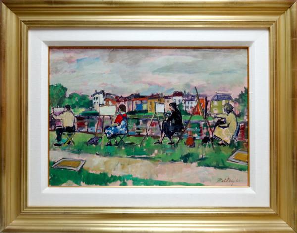 0205 - Artist's Painting, Richmond by Llewellyn Petley-Jones (1908-1986)