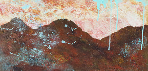 1142 - Chocolate Mountains II by Barbara Arnold