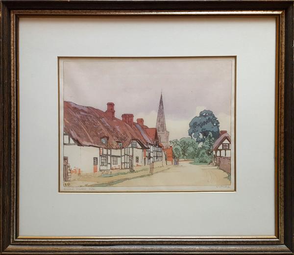 2547 - Bredon Village by Walter J. Phillips