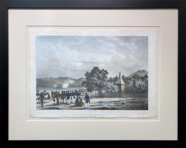 3059 - Inauguration du Monument by Louis-Auguste De Sainson (1801-1887)