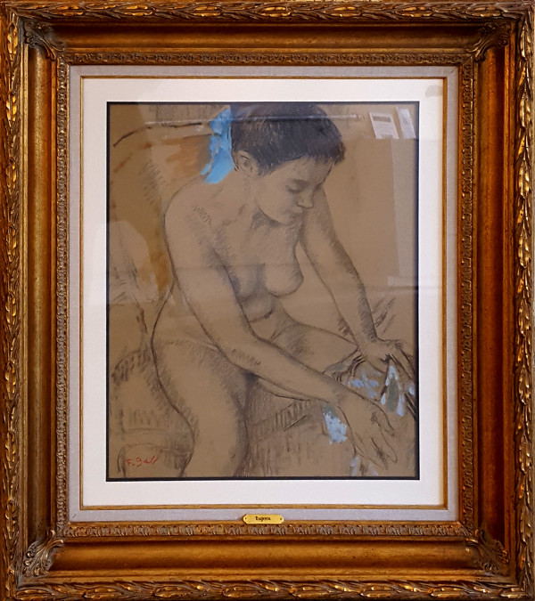 Apres Le Bain/ After The Bath (Eugenie) by Francois Gall (1912-1987)