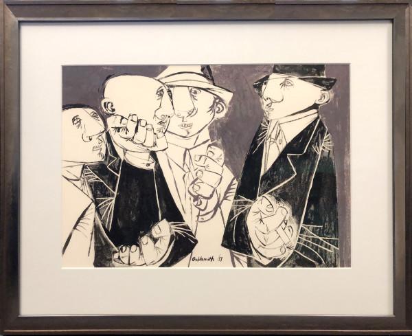 2939 - Four Men by Sidney Goldsmith