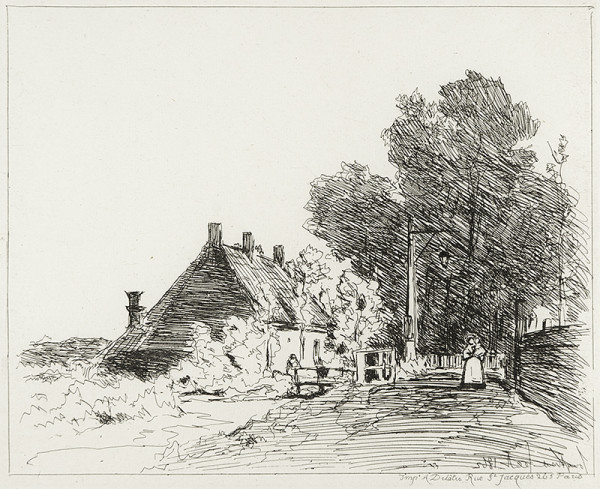 2996 - Views of Holland by Joan Barthold Jongkind