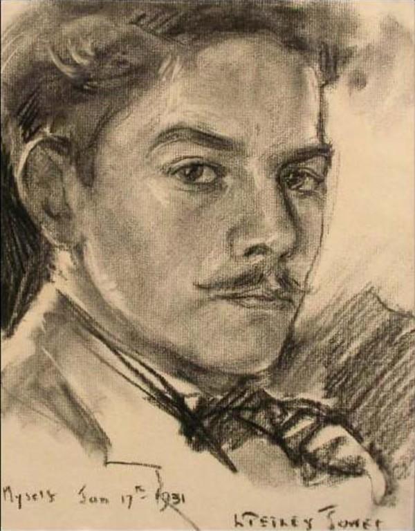 2495 - Myself by Llewellyn Petley-Jones (1908-1986)