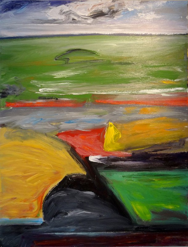 0579 - Yellow Blip by Matt Petley-Jones
