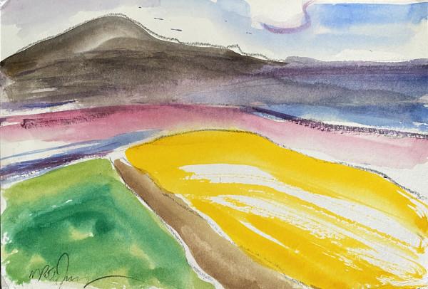 3032 - Yellow Wave by Matt Petley-Jones
