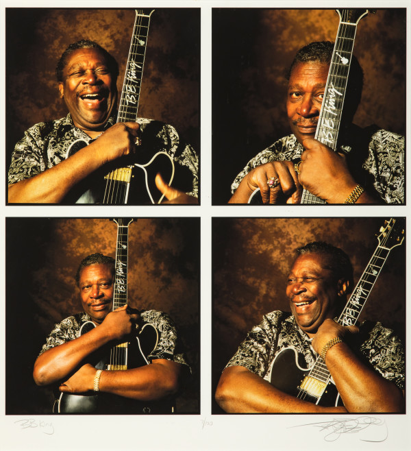 B.B. King with Lucille by Jay Blakesberg