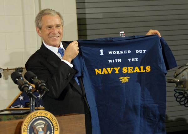 President George W. Bush by Spc 2nd Class Joseph Clark