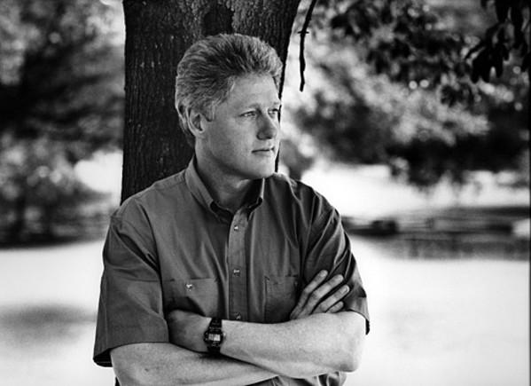 William Jefferson Clinton by Harry Benson