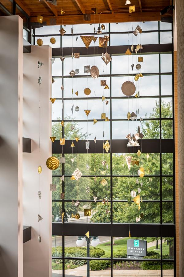 Geometric Curtain by Tom Brewitz