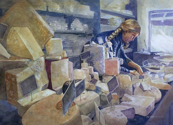 The Cheese Shoppe by Kris Parins