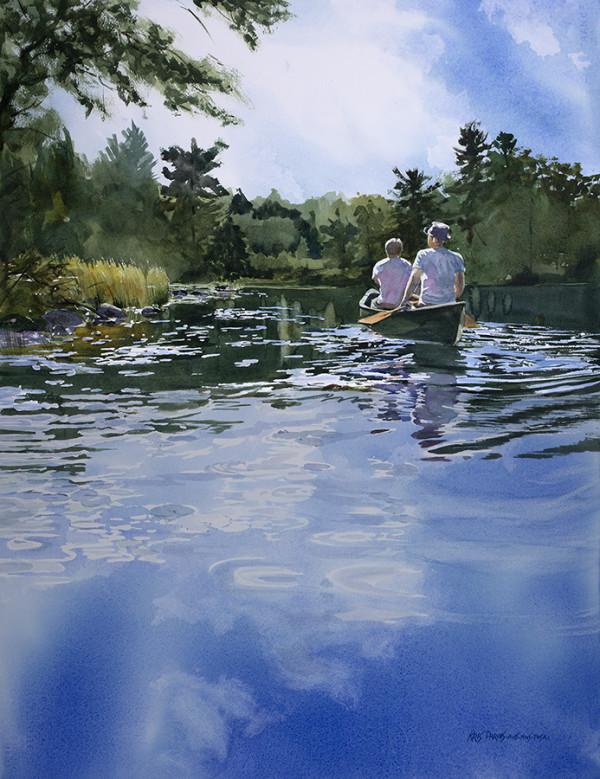 Sky Blue Waters by Kris Parins