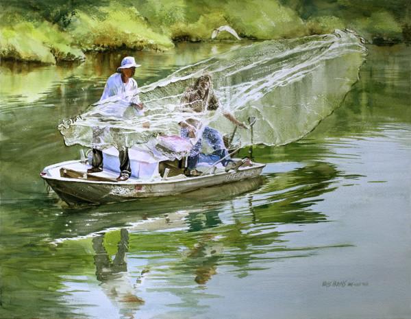 Castnet on the Creek by Kris Parins