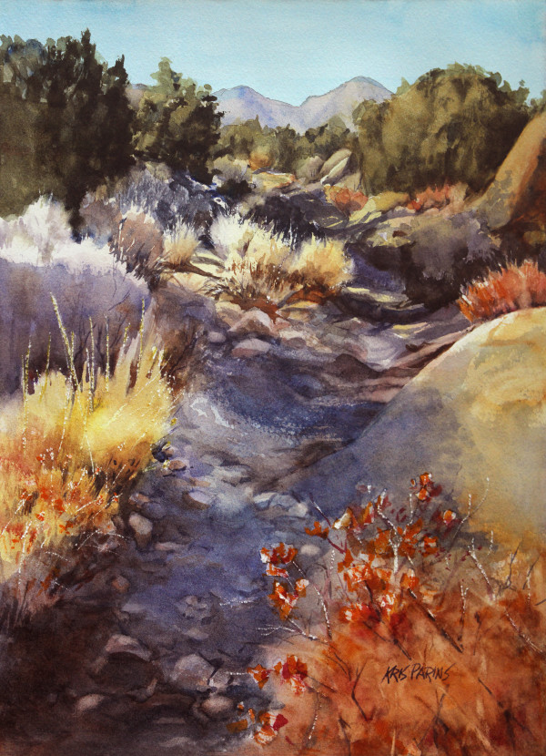High Desert Hike by Kris Parins