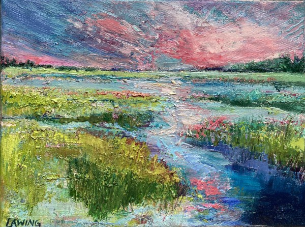 Pink Sky At Night by Julia Chandler Lawing