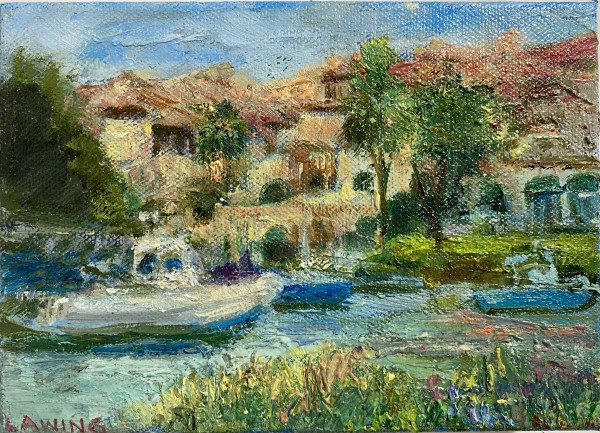 The Cloister Marina by Julia Chandler Lawing