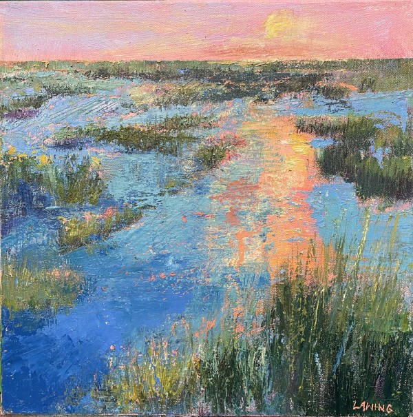 Summer Sun Over The Lowcountry by Julia Chandler Lawing