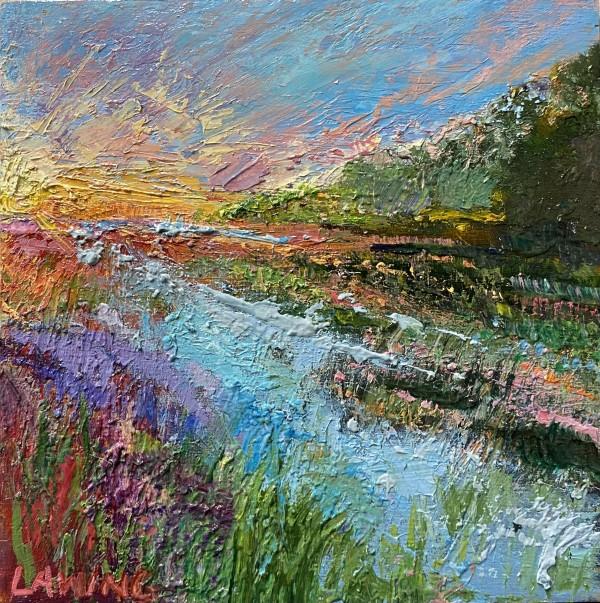 Marsh Sunrise I by Julia Chandler Lawing