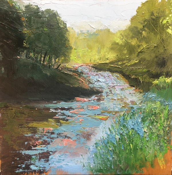 Trout Stream study by Julia Chandler Lawing
