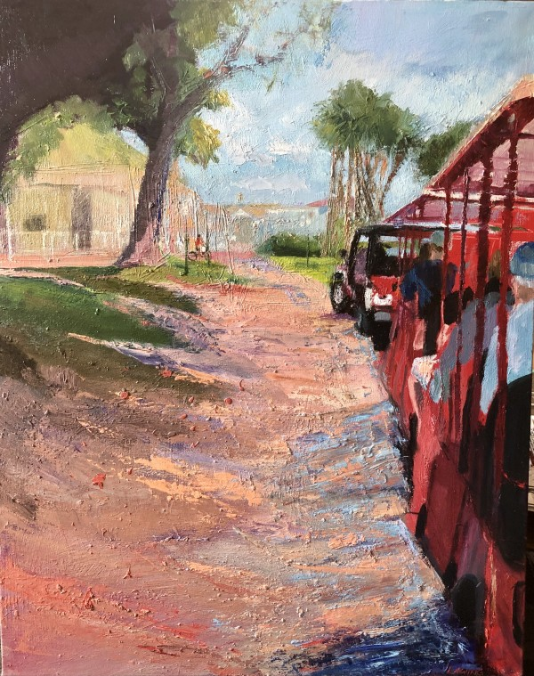 Taking The Jeep Train by Julia Chandler Lawing