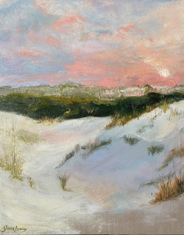 Cumberland Island Dunes At Sunset by Julia Chandler Lawing