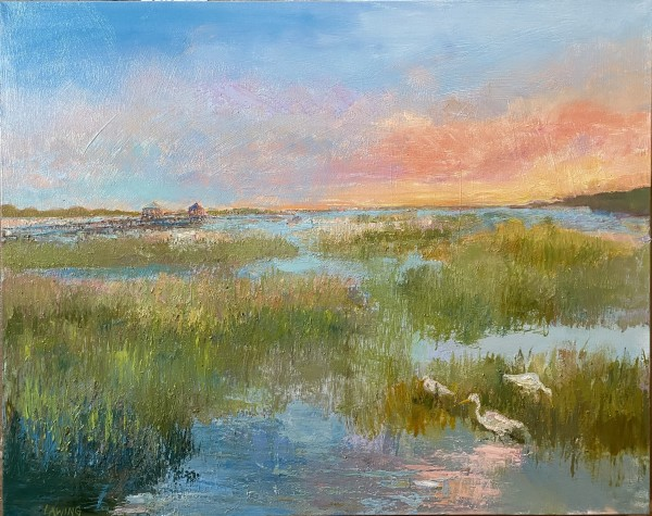 Murrells Sunset by Julia Chandler Lawing