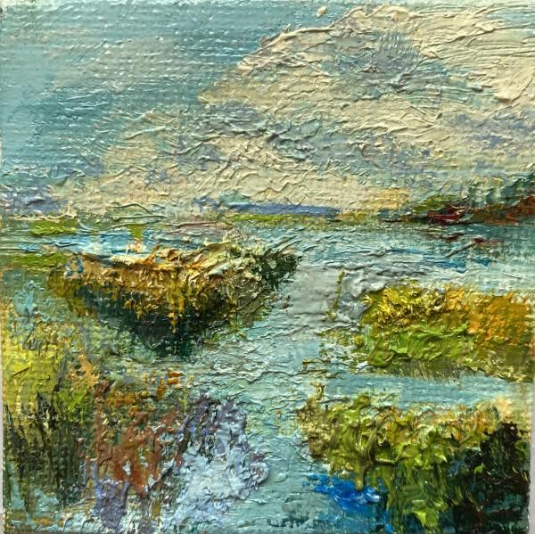 Golden Grasses by Julia Chandler Lawing