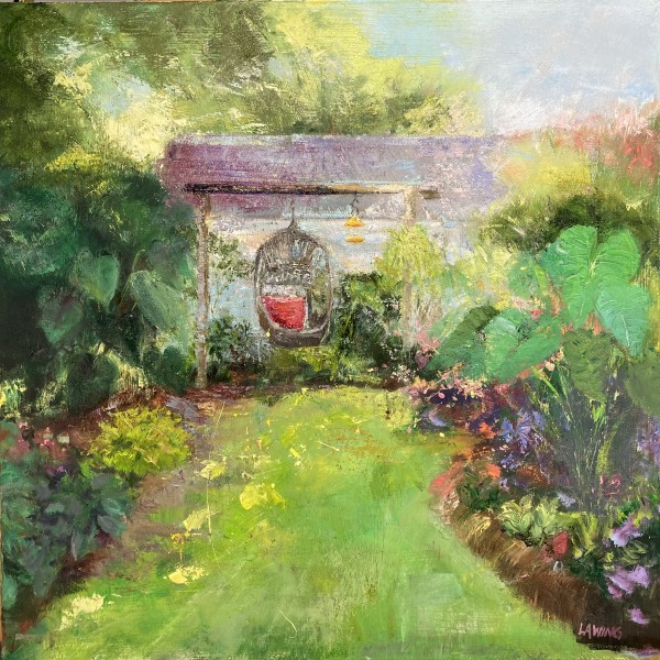 In The Garden by Julia Chandler Lawing