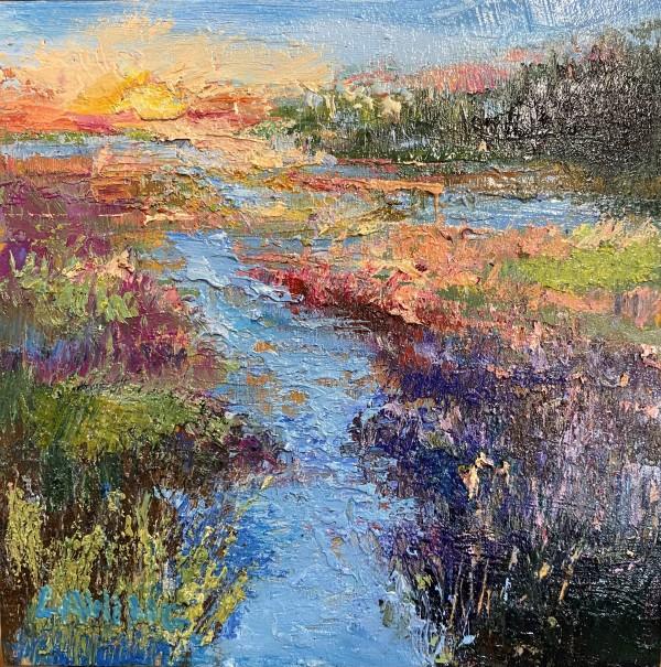 Marsh Sunrise II by Julia Chandler Lawing