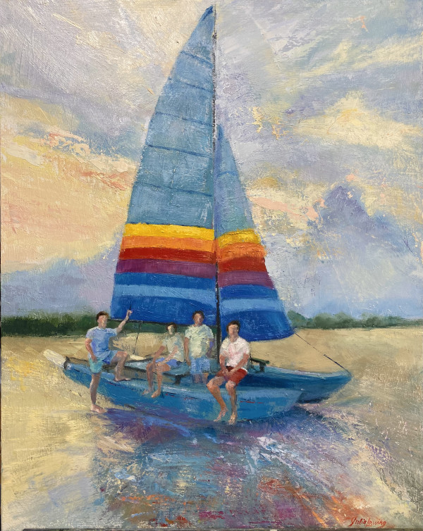 Sailing Strouds by Julia Chandler Lawing